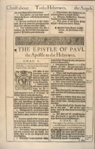 The Epistle of Paul the the Hebrews